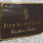 Four Seasons - sign