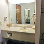 Guest Bathroom Vanity area