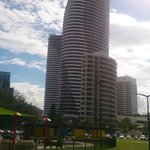 Broadbeach with The Oracle Tower