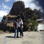 Muluye (tour guide) and me