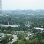 Overlook Putrajaya from the room
