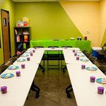 Party room available for any birthday party packages
