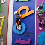 Climb ladders, letters and gear heads that spin
