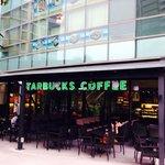Starbucks across the street