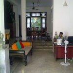 entrance foyer of guest house