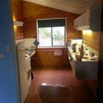 inside the bungalow (kitchen)