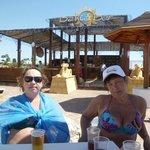 BAHIS BAR на пляже рядом с главным понтоном