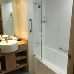 Bathroom with poor showerhead