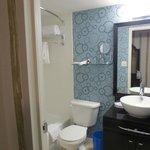 Bathroom - cozy but nice