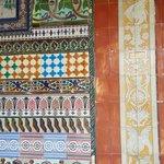 Azulejos do monastério.
