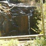 Nature WaterFall Inside Resort