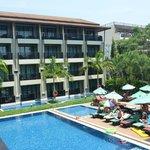 Hotel surrounding & swimming pool
