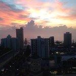 Sunrise at Towers of Chevron
