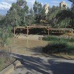 Rio Jordan. Lugar del bautismo desde Israel