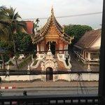 Tempel gegenüber