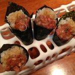 cucuruchos de sushi