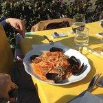 Spaghetti allo scoglio.....divini!