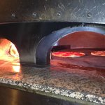 A real Italian wood oven!