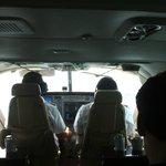 inside the private Cessna