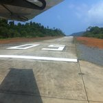 the private airstrip... How to travel in style.