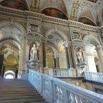 Impressive stairway