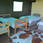 Safari Tent interior