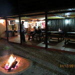 Night time in the Boma
