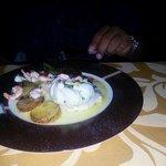 wonderful dinner at Senses