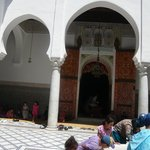 The Entrance to al Qabr Moulay Idriss al awal (The tomb of Moulay Idriss the first)