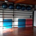 The main studio for mat classes