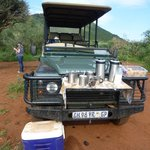 Game drive coffee break