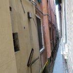 Blick in die Calle Gritti
