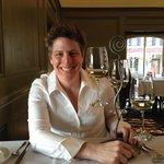 44th birthday enjoying a wine flight