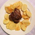 Solomillo T.G. con chips