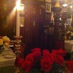 Rosen und Kerzen und goldige Zeiten
