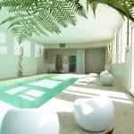 piscine balnéothérapie photo de jour