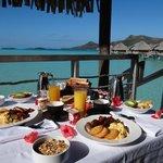 Desayuno en Canoa a la habitación