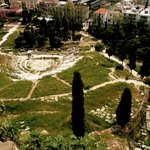 View from Acropolis towards Theatre of Dionysius
