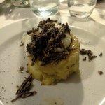tortino di patate con tartufi