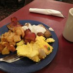 Parry Lodge - buffet breakfast plate (my choices)