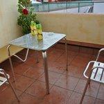 Балкончик после дождя)))