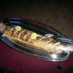 pesce alla griglia....bravo Joseph!!!