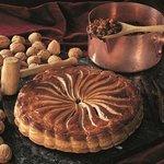 Tarta de Nueces y Caramelo
