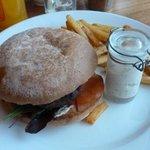 Room Service - excellent burger