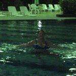 Na piscina do Fiesta