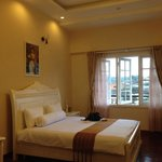 bed room of sun flower type