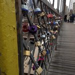 Brookly Bridge Love Locks