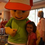 Handy Manny and my daughter