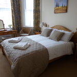 Our large double room on the first floor
