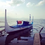 Boat ride to Taal Volcano